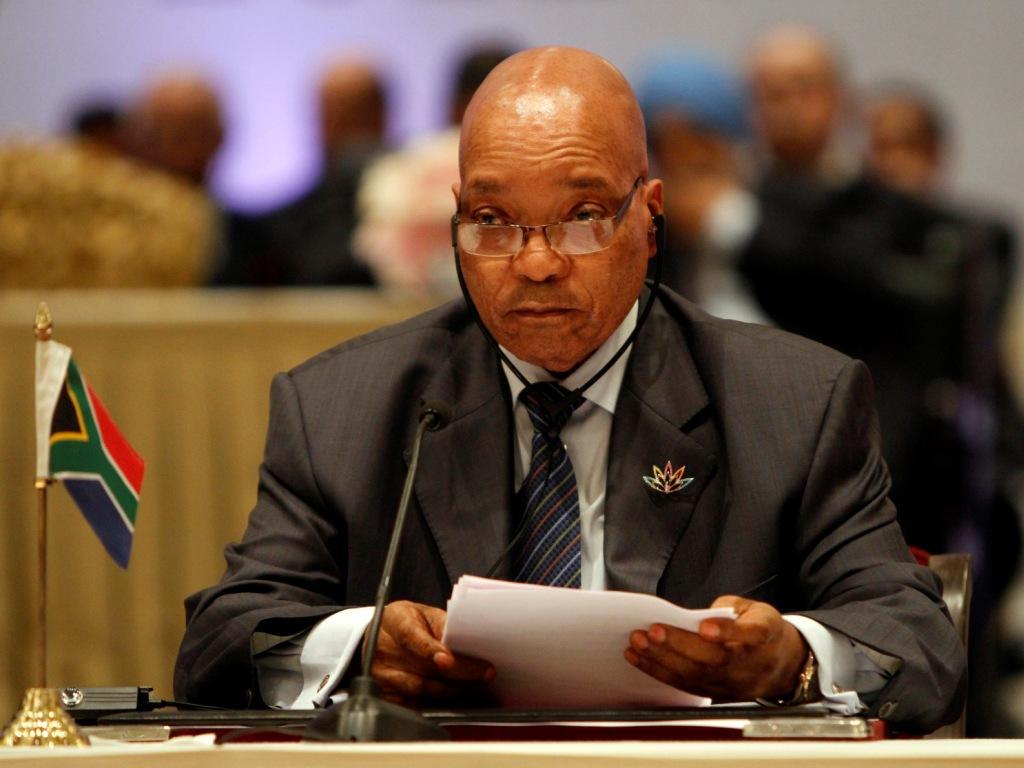 Presidente da África do Sul casa pela sexta vez