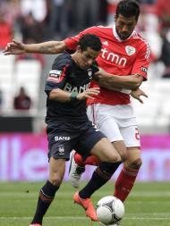 Benfica vs Maritimo (MIGUEL A. LOPES/LUSA)