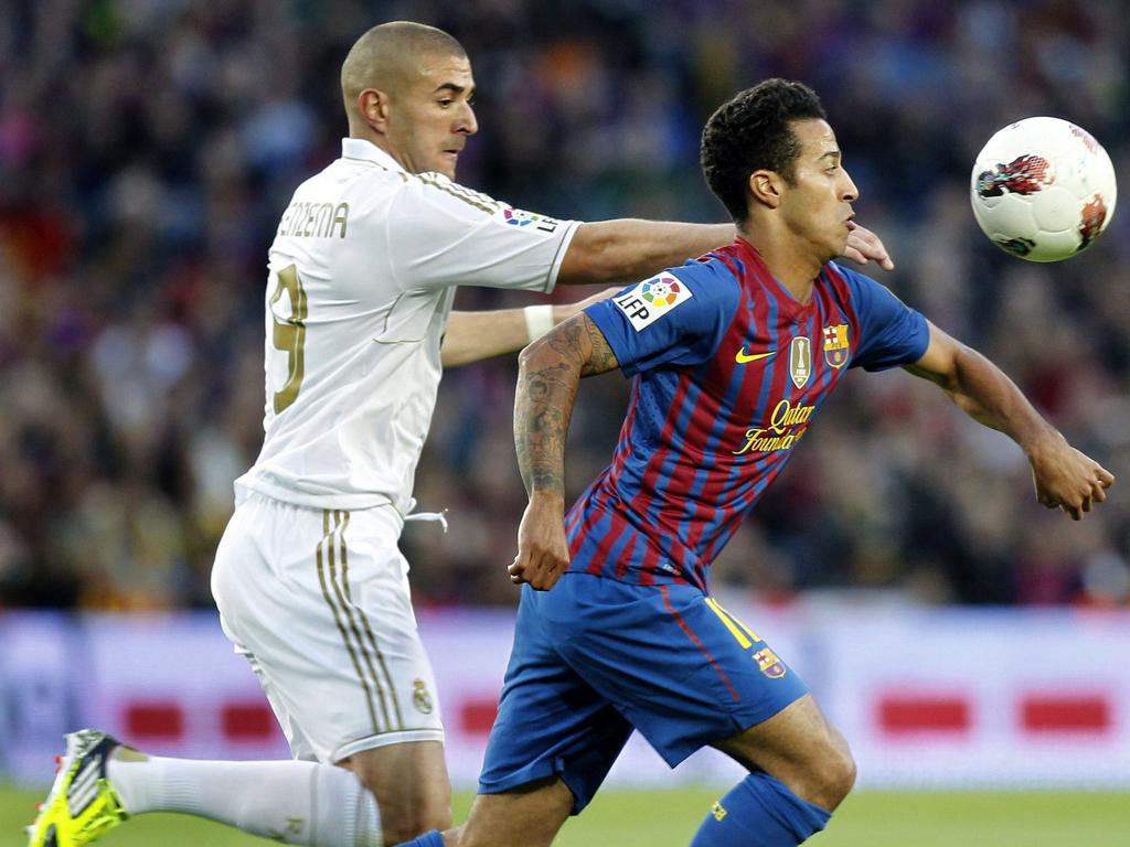 FC Barcelona vs Real Madrid (EPA/ANDREU DALMAU)