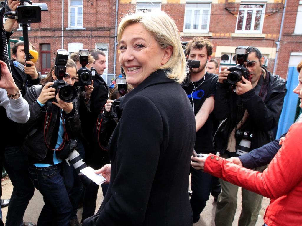 Marine Le Pen já votou [Foto: Reuters]