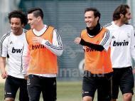 Treino do Real Madrid