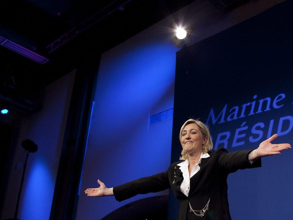 Marine Le Pen (Ian Langsdon/EPA)
