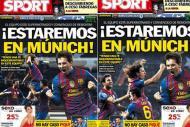 Primeira página polémica do Sport