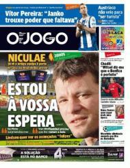 «O Jogo»: Niculae à espera em Bucareste e Chadli a falar do Benfica