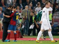 Barcelona campeão europeu! Em 2009, no Olímpico de Roma, Guardiola tocou o céu pela primeira vez ao bater o Manchester Utd, de Ronaldo, na final da Liga dos Campeões