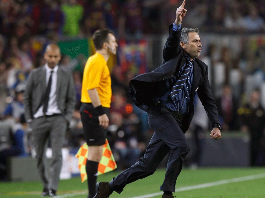Barcelona eliminado pelo Inter, de José Mourinho: a primeira batalha perdida para o treinador portuuguês que viria a tornar-se técnico do Real Madrid