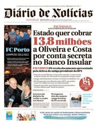 Diário de Notícias: FC Porto campeão em destaque