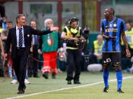 Mourinho no Inter, discussão com Balotelli [Arquivo Maisfutebol]