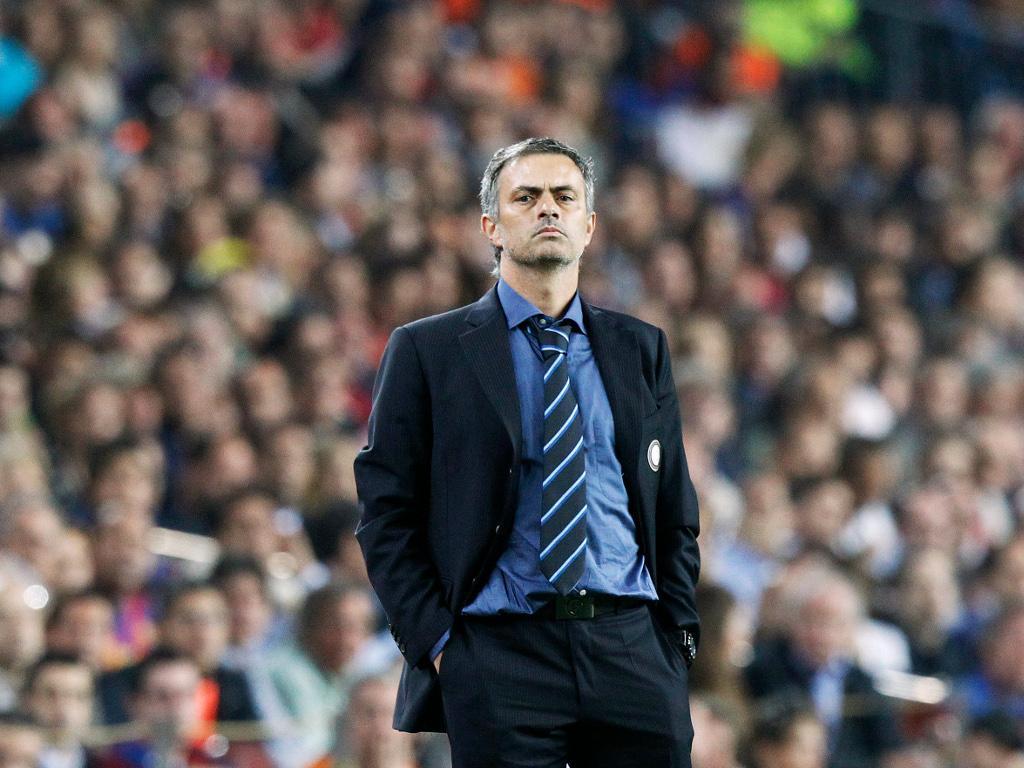 Mourinho no Inter [Arquivo Maisfutebol]