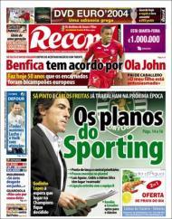 Record: os planos do Sporting e o acordo do Benfica com Ola John