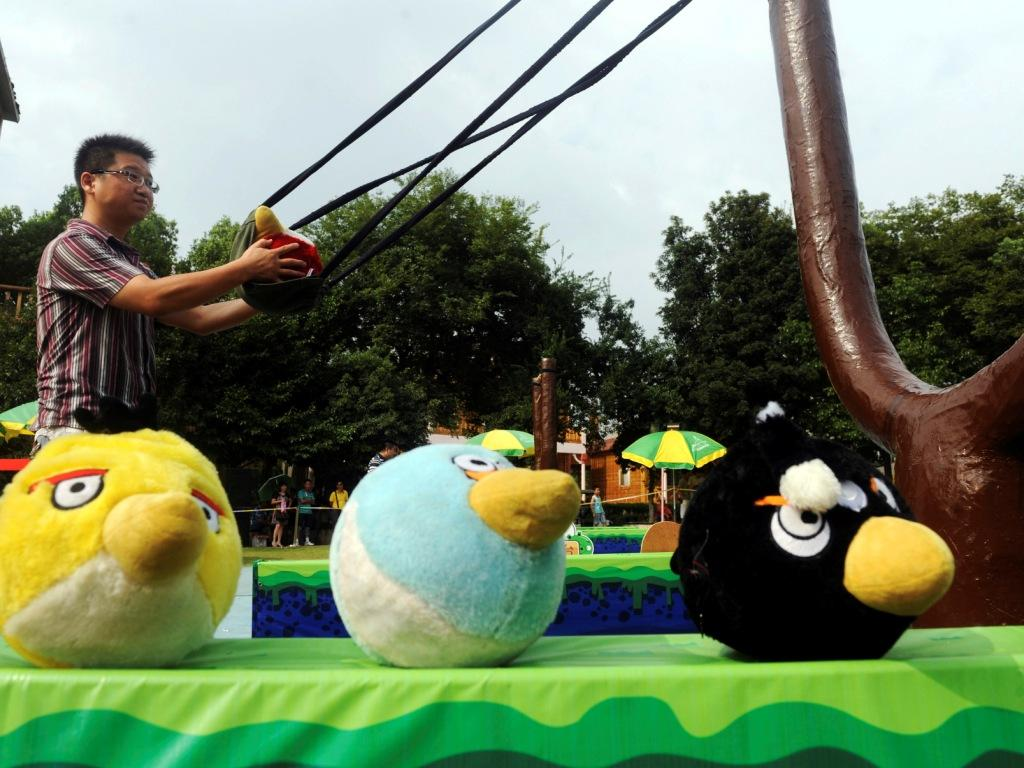 Angry Birds (Reuters)