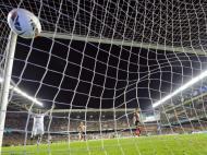 A festa do Real Madrid no balneário (Reuters)