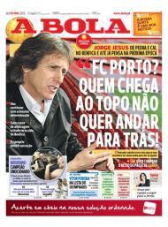 «A Bola»: entrevista a Jesus com provocação ao FC Porto