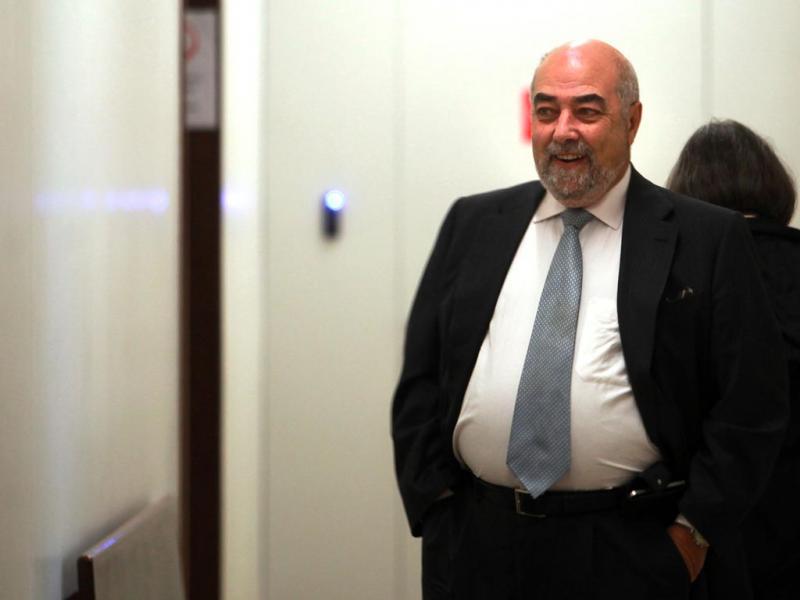 Face Oculta: Mário Lino em tribunal (Paulo Novais/Lusa)