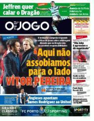«O Jogo»: Vítor Pereira e a resposta a Jesus sobre os erros de arbitragem que decidiram a Liga