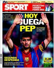 «Sport»: «o Camp Nou homenageia o melhor treinador da história»