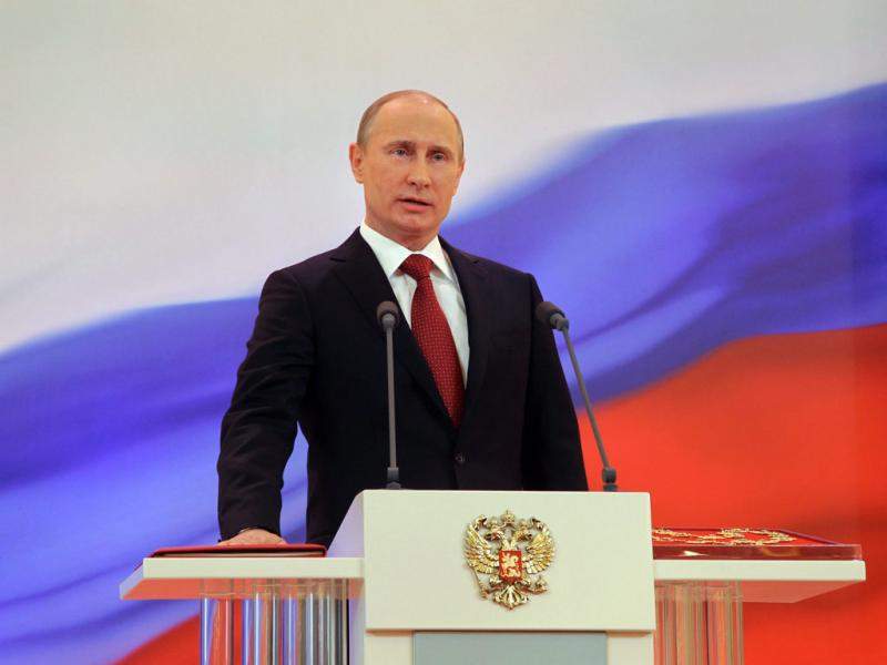 Vladimir Putin (Vladimir Rodionov/EPA)