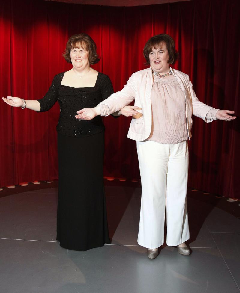 Susan Boyle e a sua escultura em cera