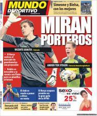El Mundo Deportivo: Barça quer reforçar a baliza