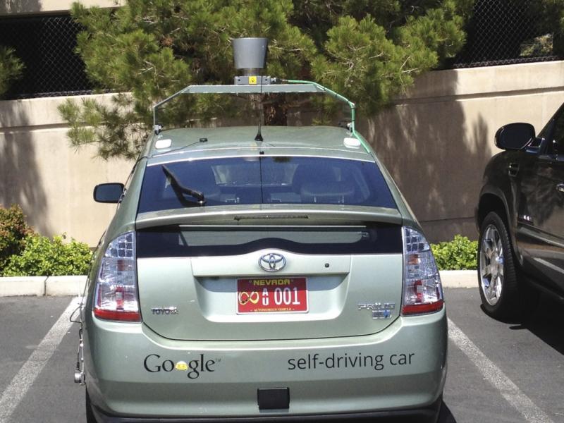 Carro da Google que conduz sozinho