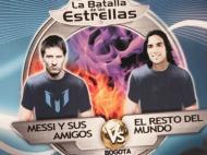 Jogo dos Amigos de Messi contra o Resto do Mundo