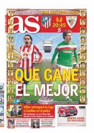 «AS»: a final da Liga Europa, «que ganhe o melhor»