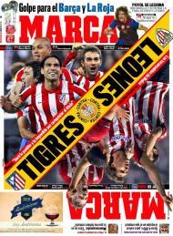 «Marca»: Tigres vs Leões, a final espanhola da Liga Europa