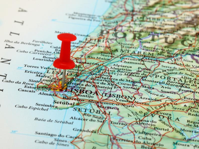 mapa de estradas de portugal online Novo mapa geológico de Portugal e Espanha inclui Madeira e Açores  mapa de estradas de portugal online