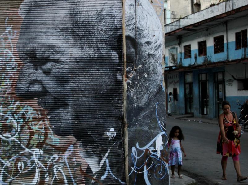 Paredes velhas ganham vida nova (Foto Reuters)