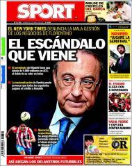 Sport: Florentino em maus lençóis