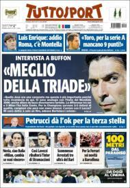 Tuttosport: Buffon, figura da campeã Juventus