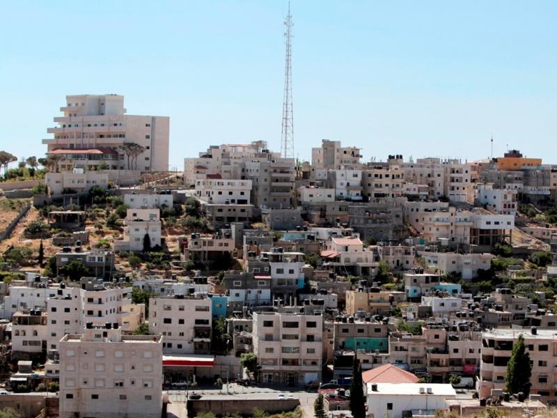 Campo de refugiados de Deheishe, em Belém, na Cisjordânia [Foto: Reuters]