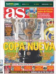 «As»: Real Madrid recebe troféu que inaugura uma era