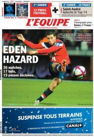 L Equipe: Hazard votado o melhor jogador