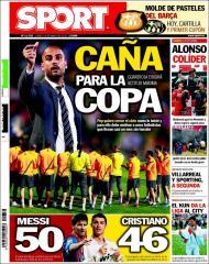 «Sport»: Guardiola quer atitude máxima na Taça do Rei