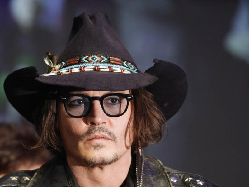 Johnny Depp na estreia de «Sombras da Escuridão» em Tóquio (Yuriko Nakao)