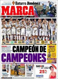 «Marca»: Real Madrid superou em pontos e golos todos os campeões de ligas europeias