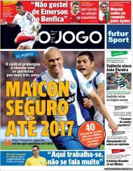 «O Jogo»: Maicon renovou por mais três anos