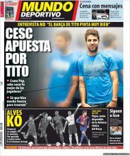 «Mundo Deportivo»: Fabregas aposta em Tito Vilanova