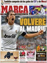 «Marca»: Raúl quer voltar a trabalhar no Real Madrid