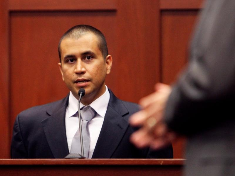 George Zimmerman em tribunal [Foto: Reuters]