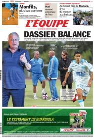 «LEquipe»: polémica no Marselha