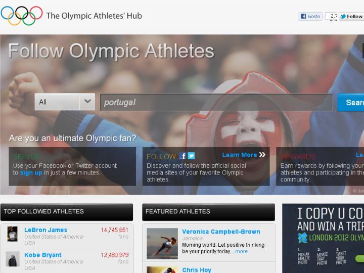 Portal dos Jogos Olímpicos