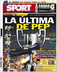 «Sport»: Guardiola tenta o 14º troféu em quatro anos
