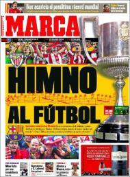 «Marca»: hino ao futebol