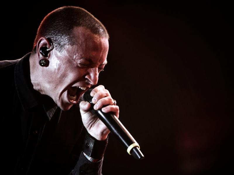 Linkin Park no Rock in Rio 2012 (foto: Manuel Lino)