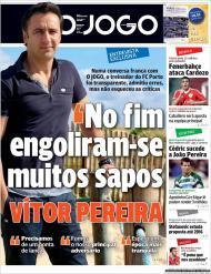 O Jogo: a entrevista de Vítor Pereira