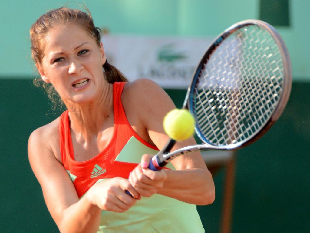 Agnieszka Radwanska durante o Roland Garros 2012