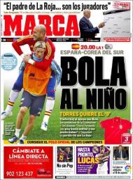 Marca: Torres quer o 9