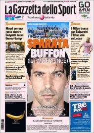 «Gazzetta dello Sport»: continua a polémica no calcio